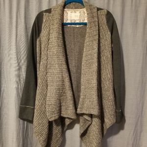 Anthropologie olive sweater